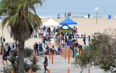 Volunteers Took Action and Gained Knowledge on Coastal Cleanup Day 2013 at Santa Monica's Historical African American, Jim Crow Era Beach Site