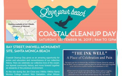 SM's Bay St. Beach/Inkwell Monument, Int'l Coastal Cleanup Day 2017 Location