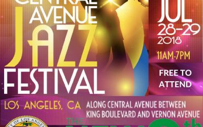 Mark Your Calendar to Attend Central Avenue's 2018 Jazz Festival and Dedication of the Angels Walk LA Heritage Trail