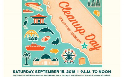 Santa Monica Conservancy Hosts South Los Angeles Youngsters for the 2018 International Coastal Cleanup Day and Nick Gabaldon Day Weekend Activities