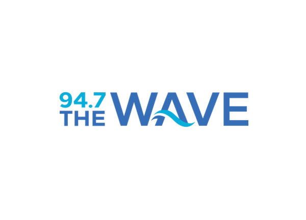 94.7 The Wave Logo